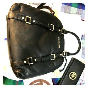 Michael Kors Bowler Bag w/ Wallet
